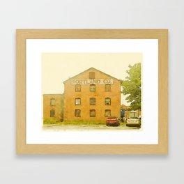 Portland Co. Framed Art Print