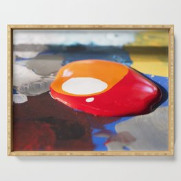 Paint Serving Tray