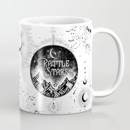 Rattle The Stars BW Coffee Mug