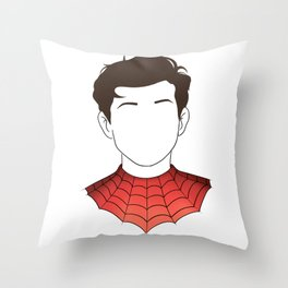 Peter Parker (Graphic) Throw Pillow