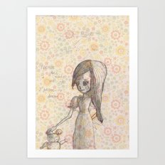 Don´t wake me up Art Print