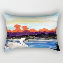 Swan Life Rectangular Pillow