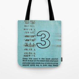 Ilium Public Library Card No. 3 Tote Bag