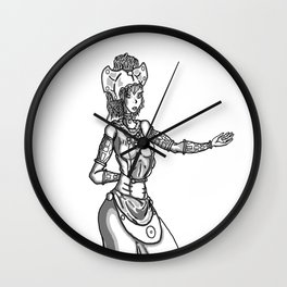 Queen M 2 Wall Clock