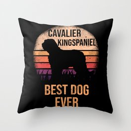 Cavalier King Spaniel product For Dog Lovers \\240 Cute Dog Throw Pillow