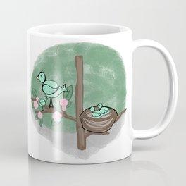 Baby Birds in a Tree Coffee Mug