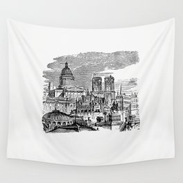 France from Paris-Neuf Or Dream And Reality Great Phantasmagoria (1861) Wall Tapestry