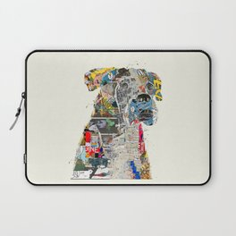 the mod boxer Laptop Sleeve