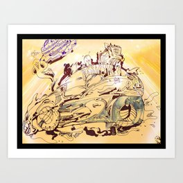 Tired of War yet? Try Electric! :D Art Print