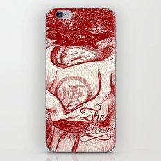 The Clown iPhone & iPod Skin