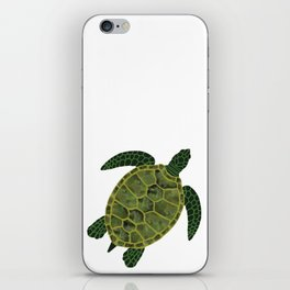 Watercolor Turtle iPhone Skin