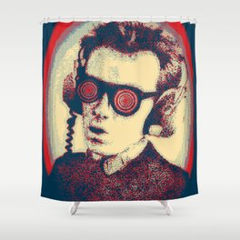 Army Of Costello Pumps It Up Shower Curtain