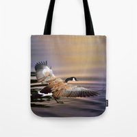 return Tote Bags featuring The Return by Art & Photography