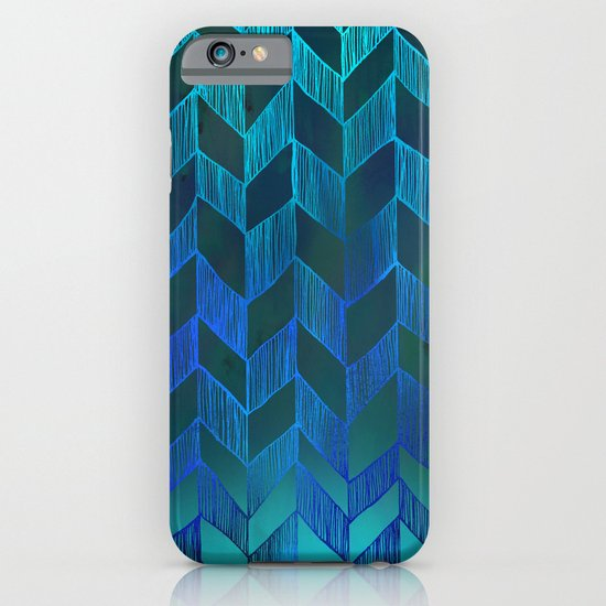 PATTERN {Chevron 013} iPhone & iPod Case