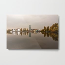 Mirror Water Metal Print