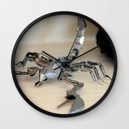 Scorpio Obsession Wall Clock