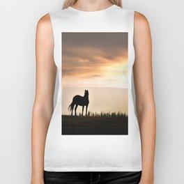 Wild Horse sunset Biker Tank
