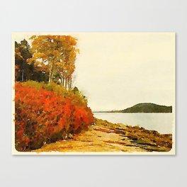 Seargant Drive, MDI, Maine Canvas Print