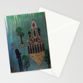 My Floating City Stationery Cards