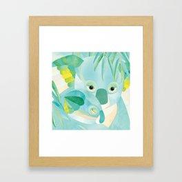 Shanti Sparrow: Maggie and Milo the Koalas Framed Art Print