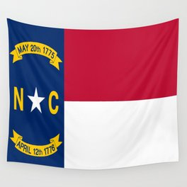 flag of north carolina-south,america,usa,Old North State,Tar Heel,North Carolinian,Charlotte,Raleigh Wall Tapestry