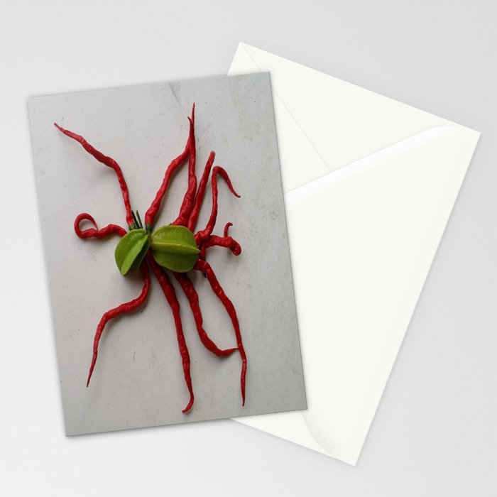 ... AND ALONG CAME A TARANTULA Stationery Cards