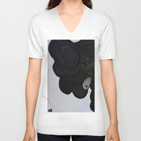 orphan black V-neck T-shirts featuring Orphan by Art by Cupcake