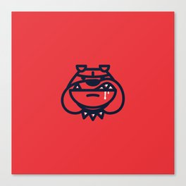 Year of the Bulldog - Dog Only Canvas Print