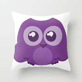 Fukurou (Owl) Throw Pillow