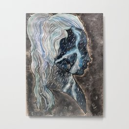 storm profile Metal Print