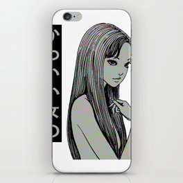 PRETTY GIRL - SAD JAPANESE ANIME AESTHETIC iPhone Skin