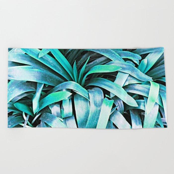 Leaves #society6 #buyart #decor Beach Towel