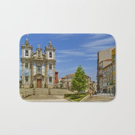 baroque church, Porto, Portugal Bath Mat