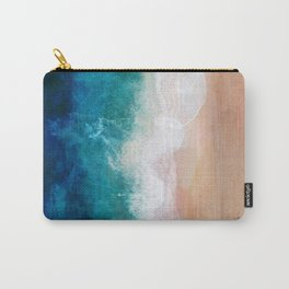 Watercolour Summer Beach IV Carry-All Pouch