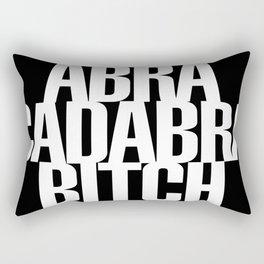 Abracadabra Bitch Rectangular Pillow