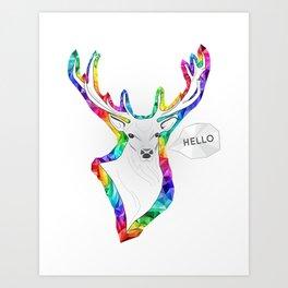 Hello Dear Art Print