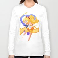 makeup Long Sleeve T-shirts featuring Venus Power Makeup! by Mikeymaru