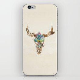Cow Skull iPhone Skin