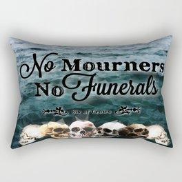 No Mourners - Black Rectangular Pillow