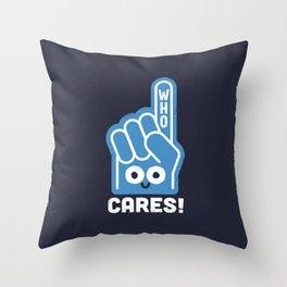 A Pointed Critique Throw Pillow