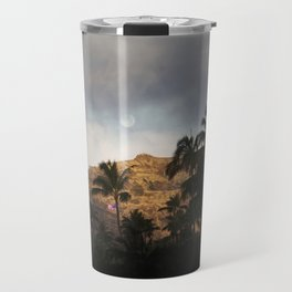 Diamond Head At Sunrise. Travel Mug