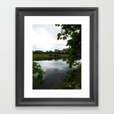 The River Itchen Framed Art Print