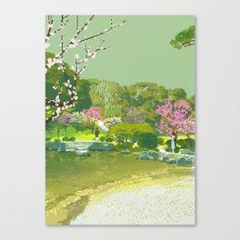 Ume Blossoms Canvas Print