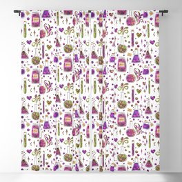 Galaxy Potions - Magenta Palette Blackout Curtain