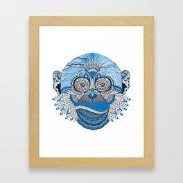 Monkey Mind Framed Art Print