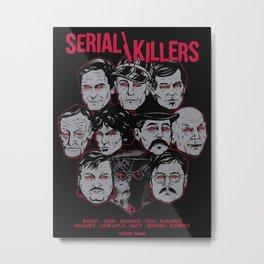 Möribundo Clothing - Serial Killers Metal Print