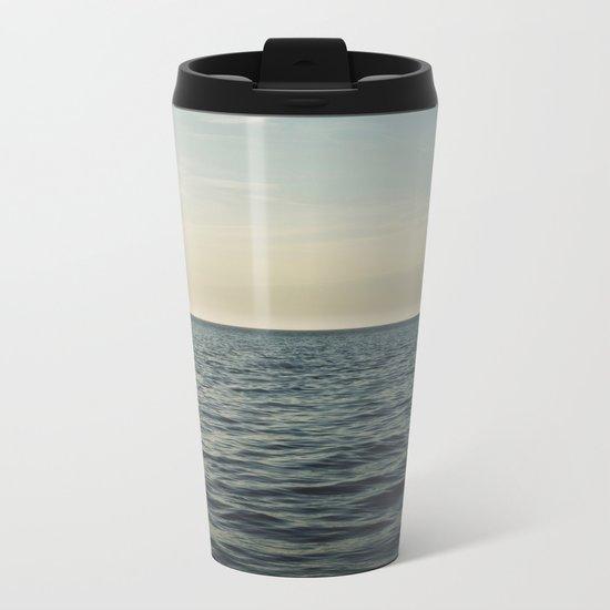 Calm Seas Metal Travel Mug
