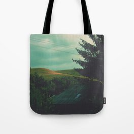 End of silence Tote Bag