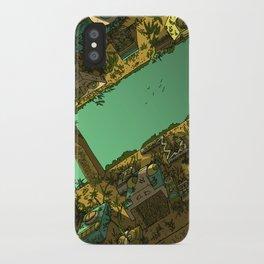 Jungle Ruins iPhone Case
