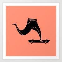 legs Art Prints featuring Legs by Sebastian Abboud